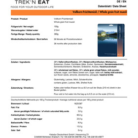 Trek'n Eat Tactical Day Ration Pack 1100g Typ 3